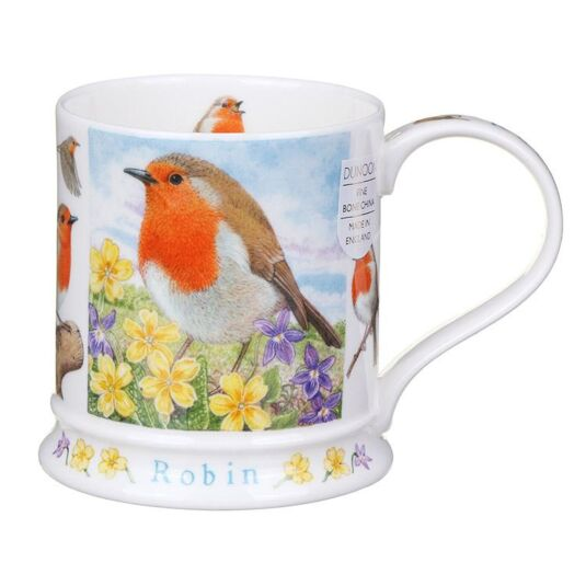 Wildlife Robin Iona Shape Mug