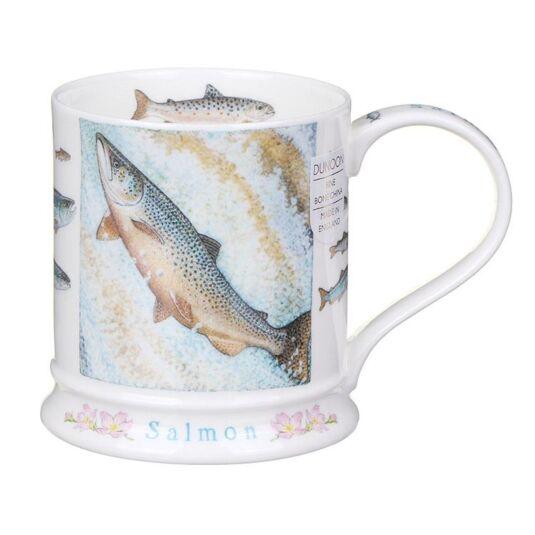 Wildlife Salmon Iona Shape Mug
