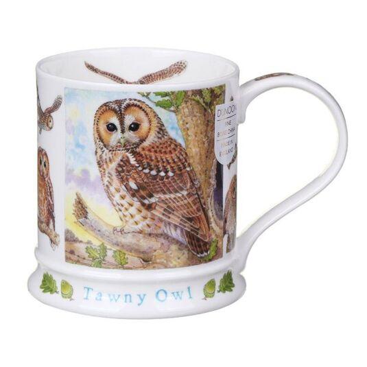 Wildlife Tawny Owl Iona Shape Mug
