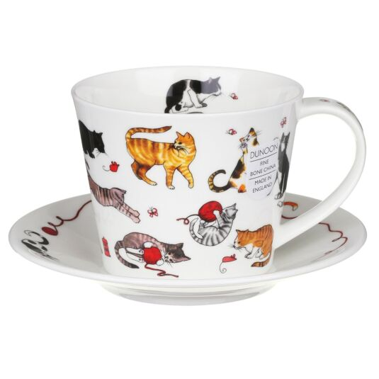 Cute Cats Islay Cup and Saucer