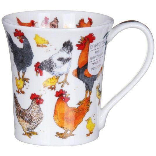 Cluckers Jura Shape Mug