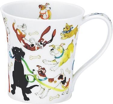 Dogs Galore Jura shape Mug