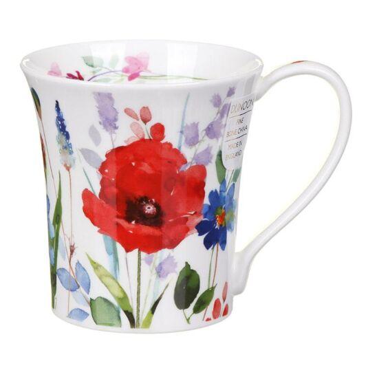 Wild Garden Poppy Jura Shape Mug