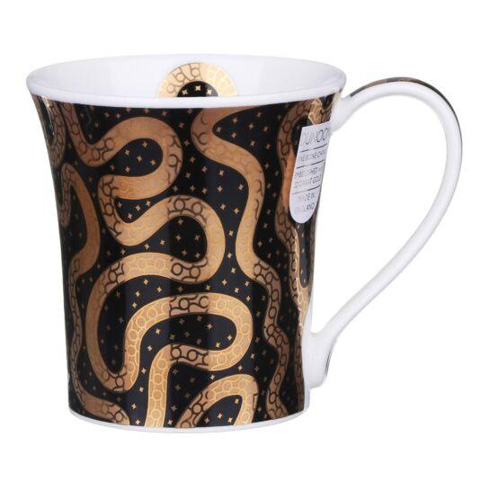 Yasir Black Jura Shape Mug