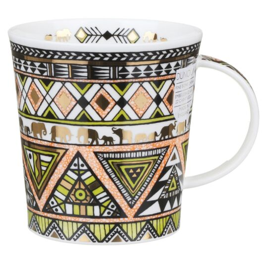 Afrika Lime Lomond Shape Mug