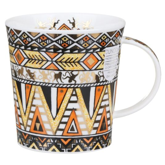 Afrika Orange Lomond Shape Mug