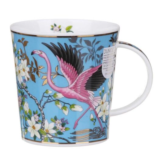 Aisha Blue Lomond Shape Mug