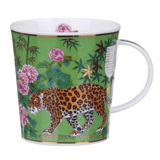 Aisha Green Lomond Shape Mug