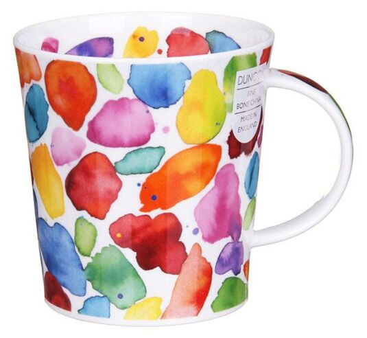 Blobs! Red Lomond Shape Mug