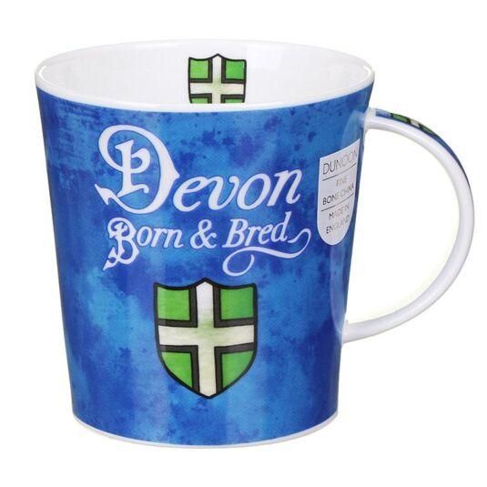 Born And Bred Devon Lomond Shape Mug