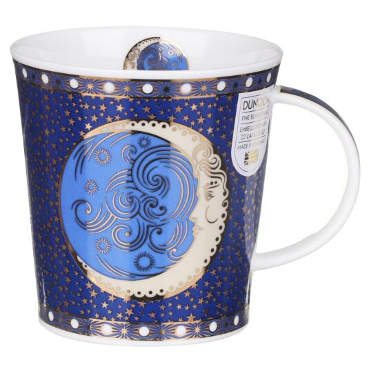 Celestial Moon Lomond Shape Mug