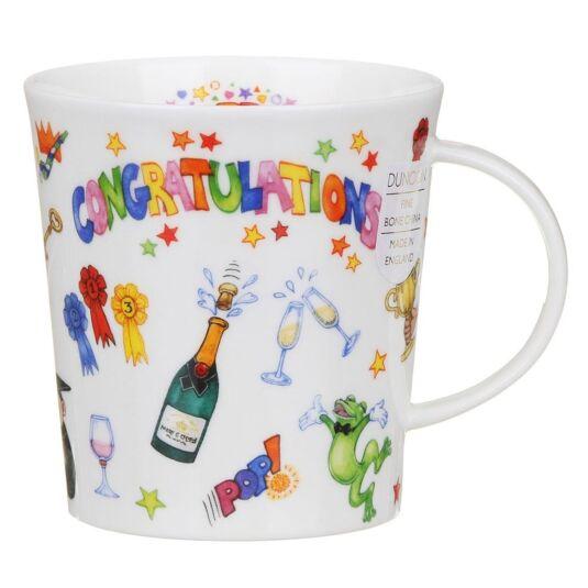 Congratulations Lomond Shape Mug
