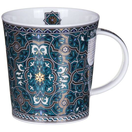 Dubai Green Lomond Shape Mug