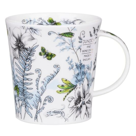Hidden Garden Green Lomond Shape Mug