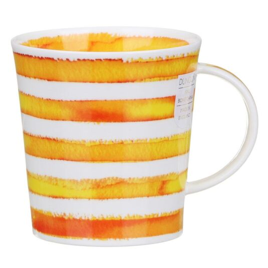 Hoopla! Yellow Lomond Shape Mug