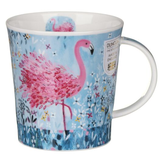 Fancy Feathers Flamingo Lomond Shape Mug