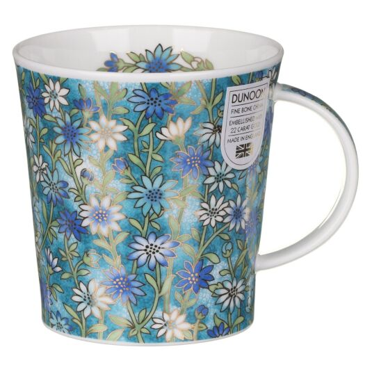Ophelia Blue Lomond Shape Mug