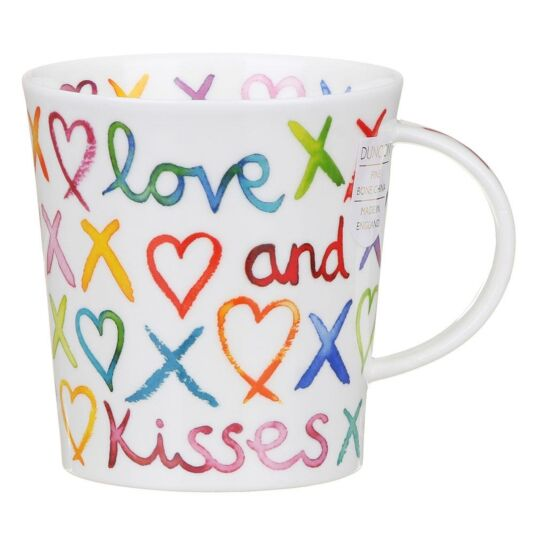 Love & Kisses Lomond Shape Mug