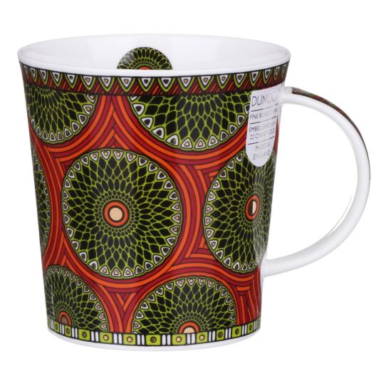 Masai Orange Lomond Shape Mug