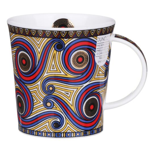 Masai Red Lomond Shape Mug