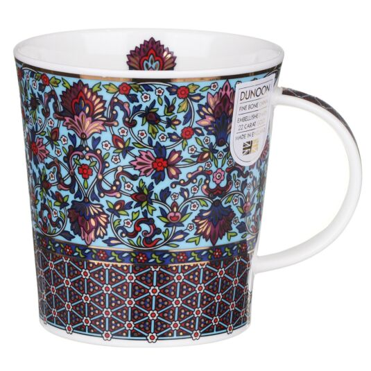 Sari Flower Lomond Shape Mug