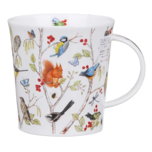 Secret Wood Bluetit Lomond Shape Mug