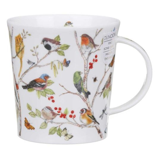 Secret Wood Robin Lomond Shape Mug