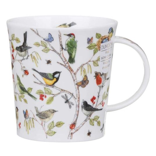 Secret Wood Woodpecker Lomond Shape Mug