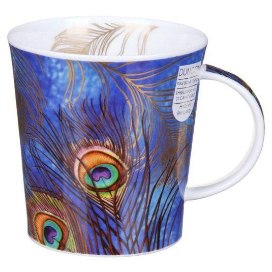 Shakila Blue Lomond Shape Mug