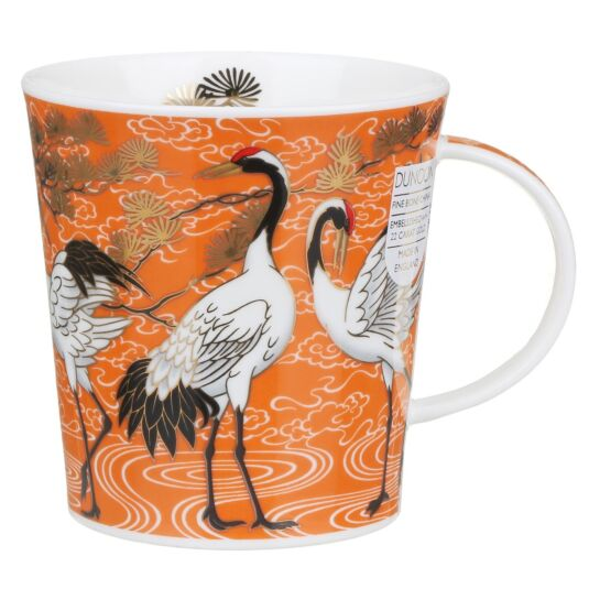 Shalamar Orange Lomond Shape Mug