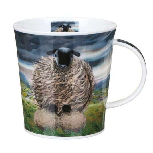 The Sheep Storm Lomond Shape Mug