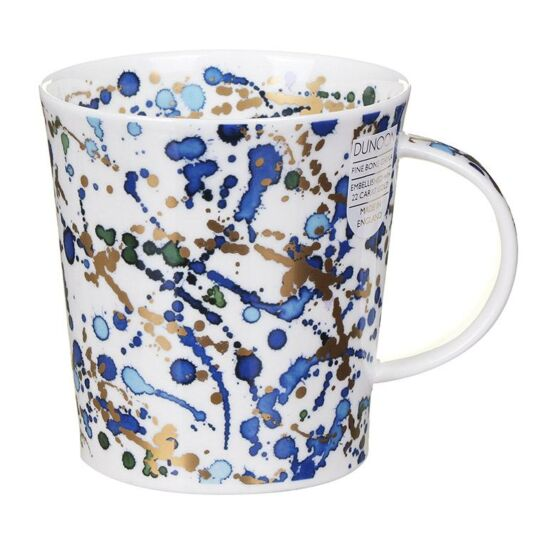 Splash Blue Lomond Shape Mug