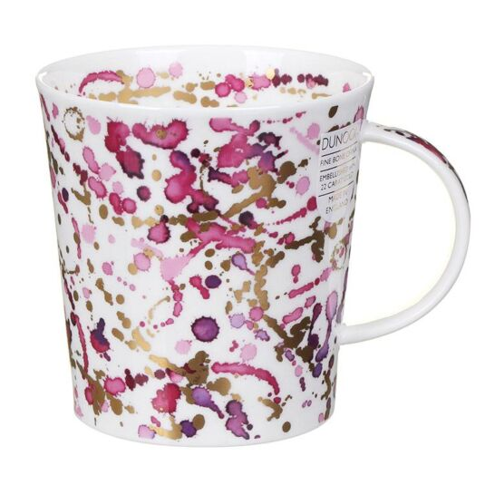 Splash Pink Lomond Shape Mug