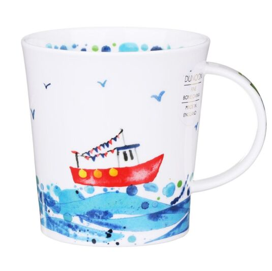 Wavelength Floaty Boaty Lomond Shape Mug