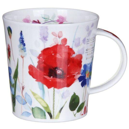 Wild Garden Poppy Lomond Shape Mug