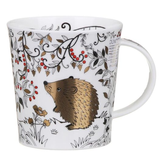 Wildwood Hedgehog Lomond Shape Mug