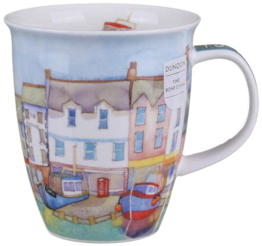 By The Coast Harbour Nevis shape Mug