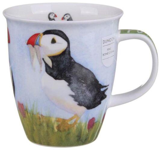 By The Coast Puffin Nevis shape Mug
