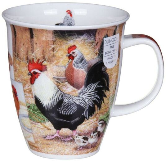 Country Life Chicken Nevis Shape Mug