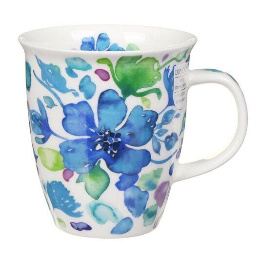 Firenze Blue Nevis Shape Mug