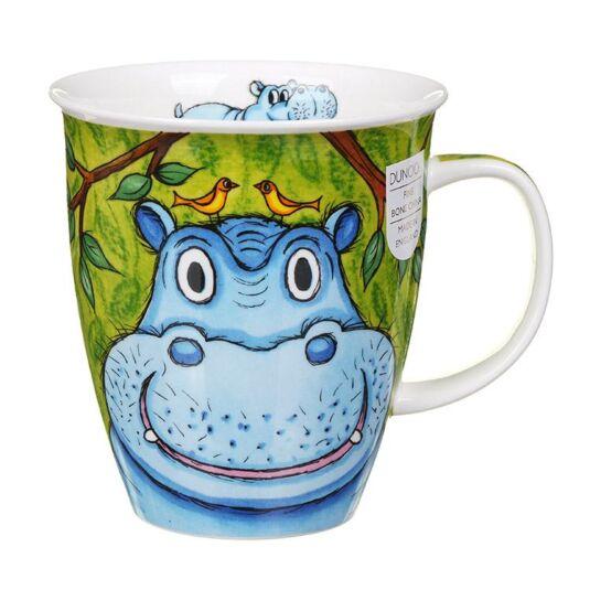 Go Wild Hippo Nevis Shape Mug
