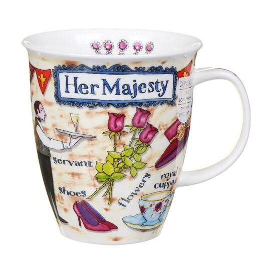 Her Majesty Nevis Shape Mug