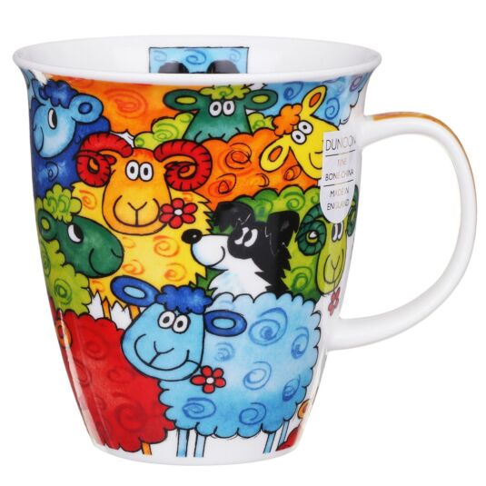 Hide & Seek Sheep Nevis Shape Mug