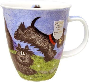Highland Animals Black Terrier Nevis shape Mug