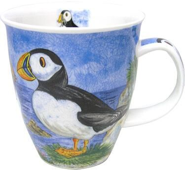 Highland Animals Puffin Nevis shape Mug