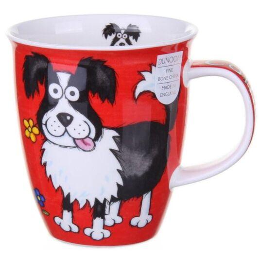 Highland Gang Collie Nevis Shape Mug