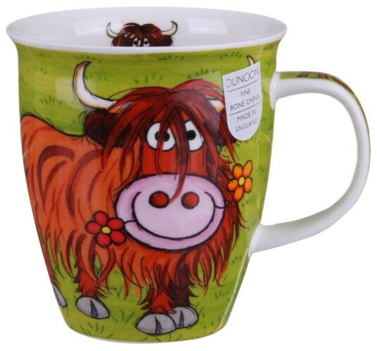 Highland Gang Heelan Coo Nevis shape Mug