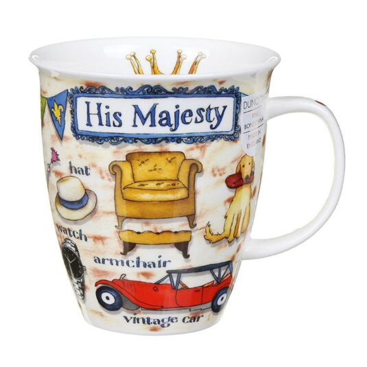 His Majesty Nevis Shape Mug