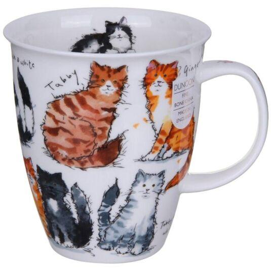 Messy Cats Nevis shape Mug