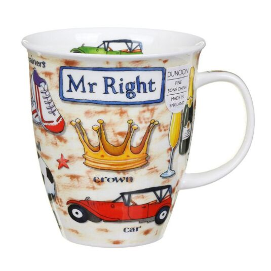 Mr Right Nevis Shape Mug